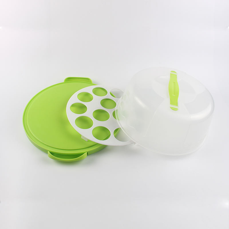 Hot Sale Plastic Double-use Cupcake and Cake Carrier