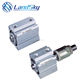 LandSky hot sell air tac hydraulic force double acting standard Good wear resistance compact cylinder SDA