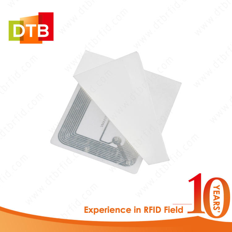 DTB RFID Best Selling NXP ICODE SLI-X RFID Tag For Books