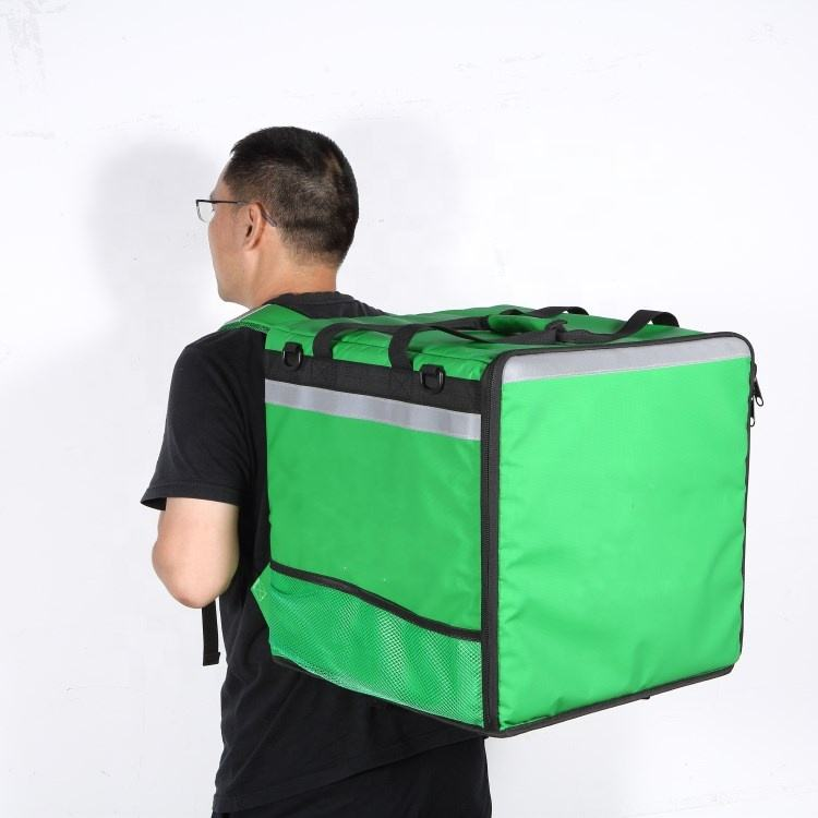 Big waterproof Thermal motorcycle insulated grocery bag pizza thermo bag food delivery backpack