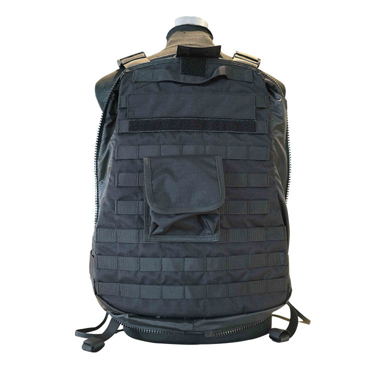 military bulletproof backpack change into body armor PE NIJIIIA .44 bulletproof insert backpack