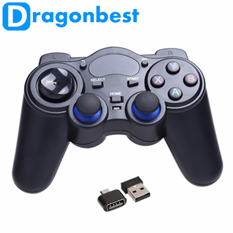 2019 Dragonworth New Brand 2.4G RF Wireless Gamepad joystick gamepad with high quality Joystick & game control