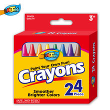 Art Colorful Drawing Set Kids Children Coloring Kit Non-toxic Wax Crayon