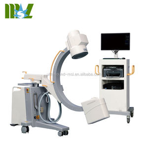 High Frequency Mobile C arm X-ray Imaging System fluoroscopy machine MSLCX36