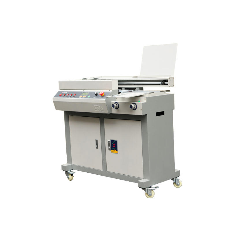 automatic book binder glue perfect binding machine