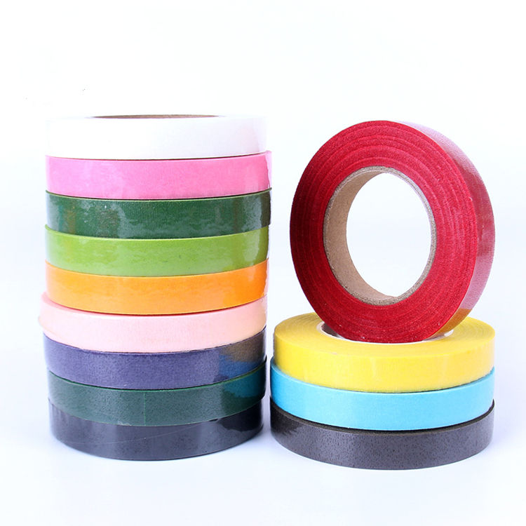 RTS Florist Material Supplies Florist Floral Stem Tape Buttonhole Flower Decoration Tape Packing Floral Tape