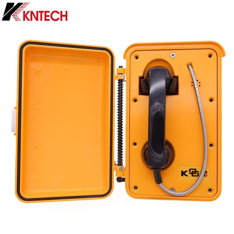 High anti-jamming capability waterproof IP66 telephone SOS public wall mount internet phone