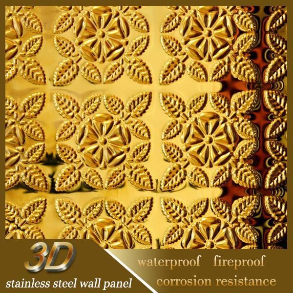 الداخلية مقاومة للحريق لوحات الحائط d 3 منحوتة فنية