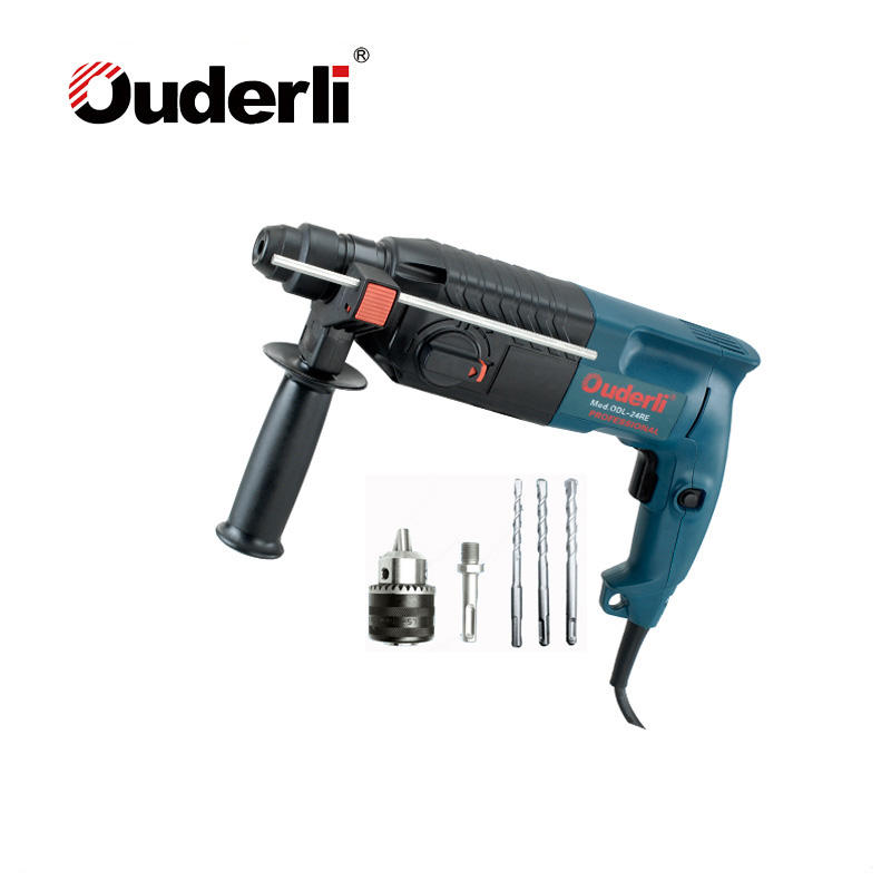 OUDERLI 680W Safe Faster Drilling Electric Hammers With 24mm Chuck