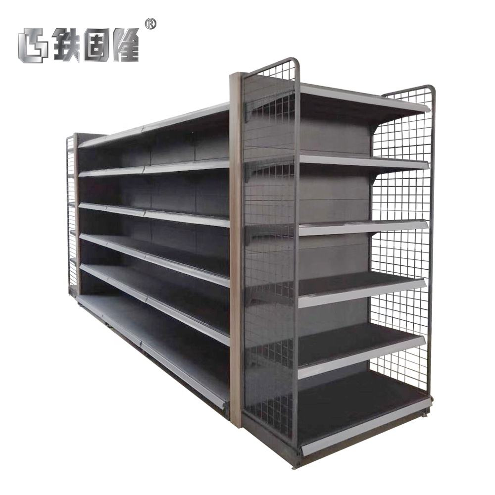 The Foshan factory manufacturing shelves for supermarkets shopping mall rack
