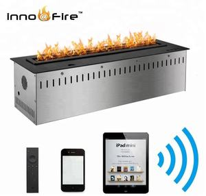 Inno Living 36 inch MY remote control wifi smart intelligent alcohol bio ethanol fireplace