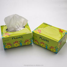 hot sale soft sanitary wipe box facial tissue paper