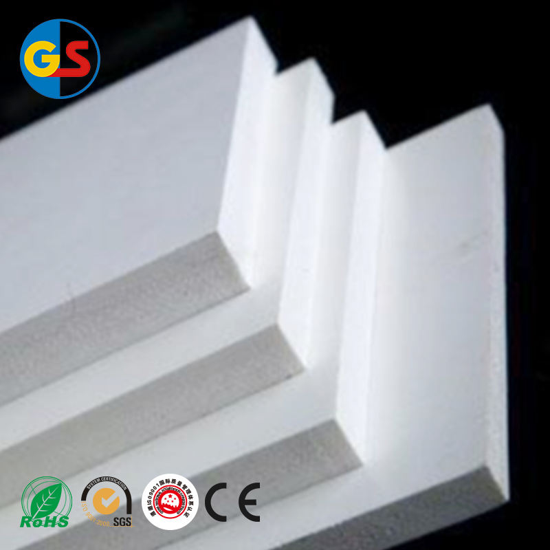 1-40mm PVC foam board/plastic vel/waterdicht foam vel fabrikant