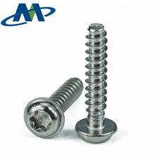 Stainless Steel Self Tapping Pan head Thread Forming Delta PT Screws For Plastics