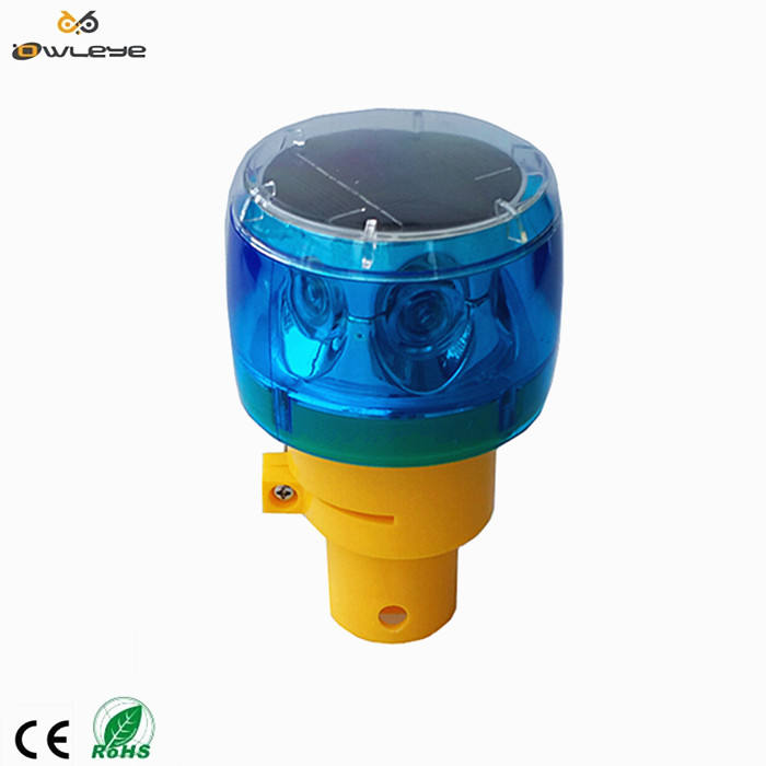 Mini Solar flash warning light