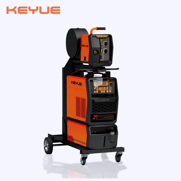 MIG-500H IGBT DC Inverter high frequency heavy duty synergic CO2 gas tig/stick/mig/mag double pulse aluminum welding machine