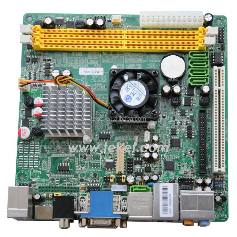 Mini-ITX Motherboard ION-N3ZR with nVidia MCP79/7A, support Intel Atom N330 cpu