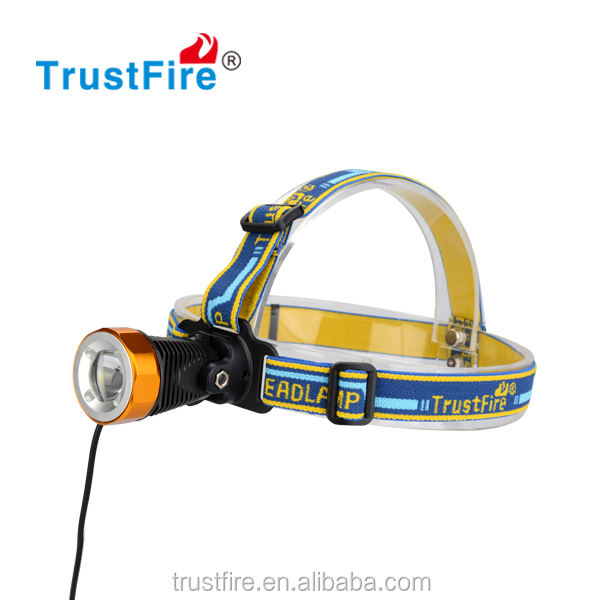 Trustfire original led lenser 3868-H6 with cree xml t6 led rechargeable cree led headlamp