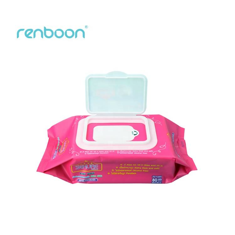 Baby Products Free Samples Soft Cotton Baby Wipes