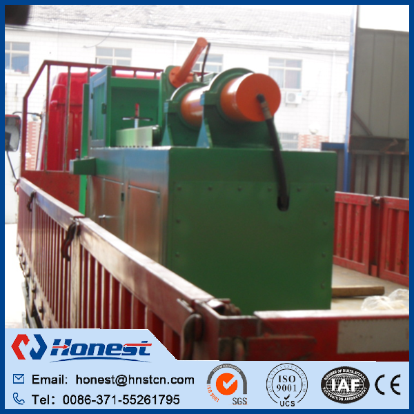 Full automatic tire recycling line / steel wire drawing machine