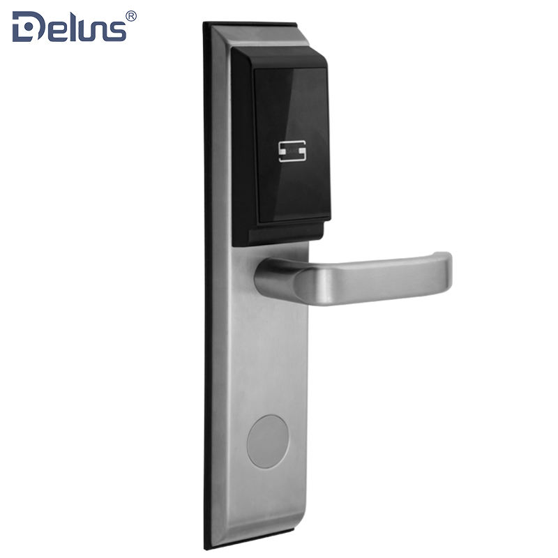 Deluns smart rfid (high) 저 (frequency M1 card digital 방수 호텔 lock 와 management system 소프트웨어 보안