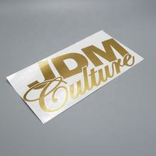 Custom metal sticker custom logo tattoo sticker