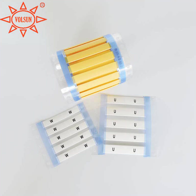 Supplying Wiring Harness Halogen Free Heat Shrink Sleeve Label Marker