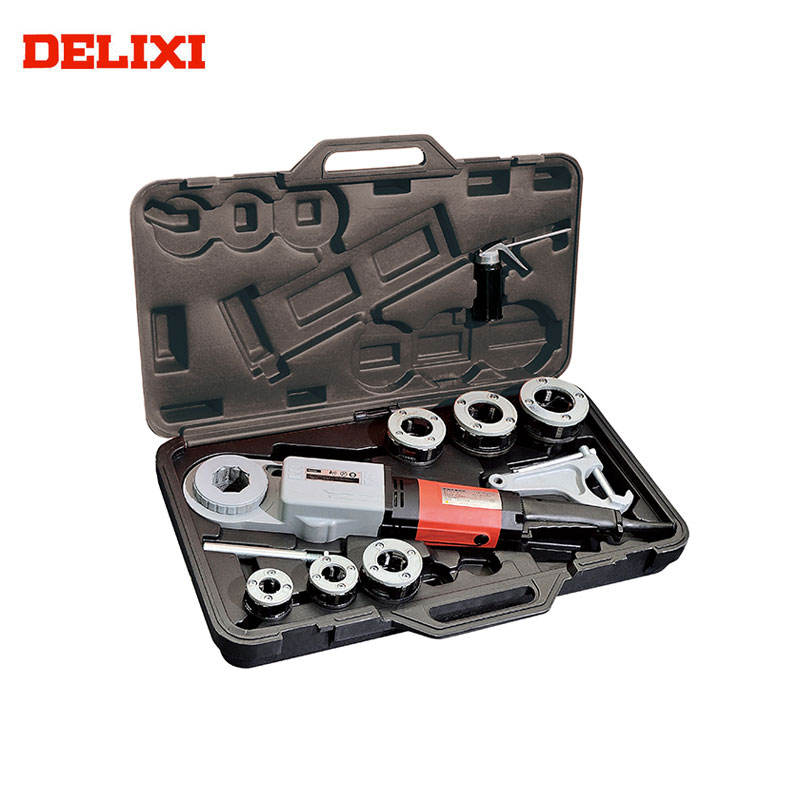 "China Pipe Threader DLX30-2B 1/2"" To 2"" Pipe Plumbing Strong Function Portable 2 inch Electric Pipe Threading Machine"