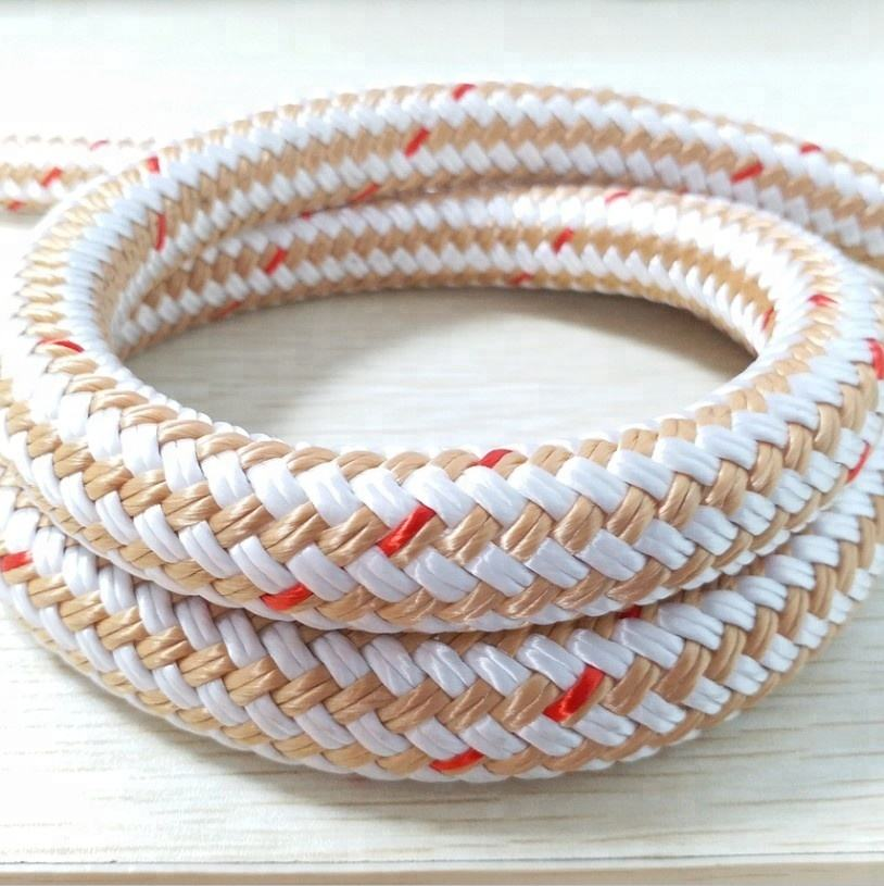 rope factory offered nylon double braided marine rope price