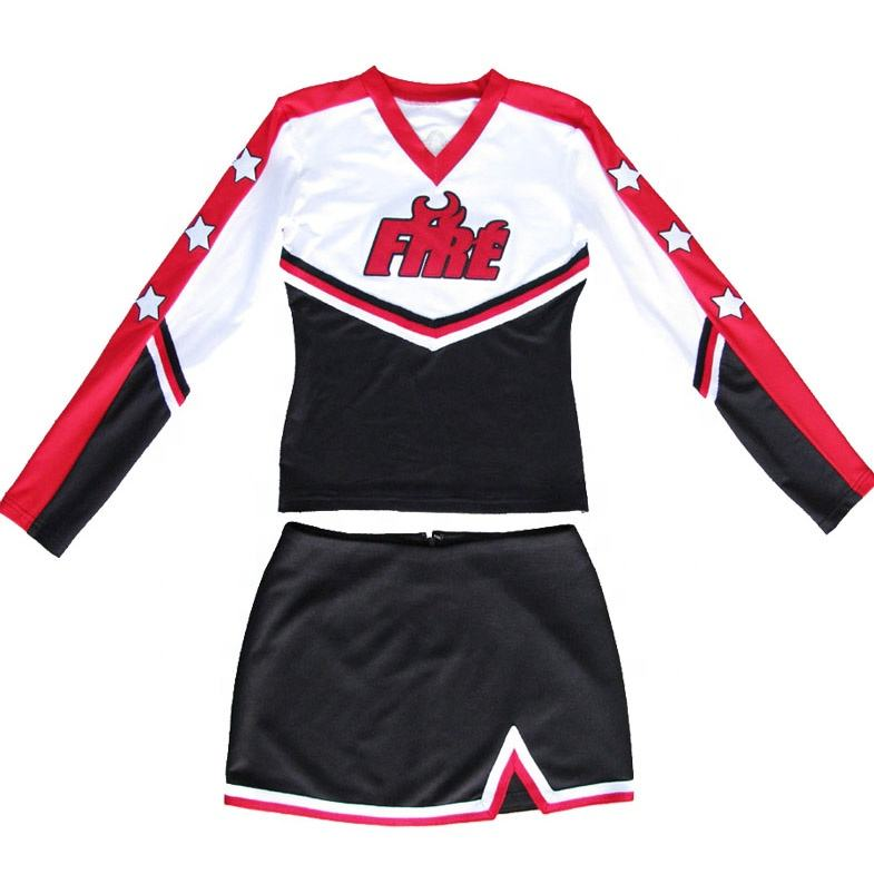 Cheer leader pratica vestito da usura