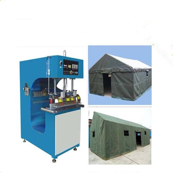 Direct Manufacture 5KW PVC Tarpaulin/ Tent High Frequency Welding Machine With Ce, Customized Welding Length