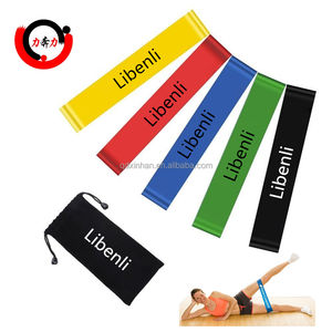 Home Gym Equipment Fitness Elastic Resistance Exercise Loop Bands Set