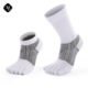wholesale anti bacterial open toe seperate men sports socks