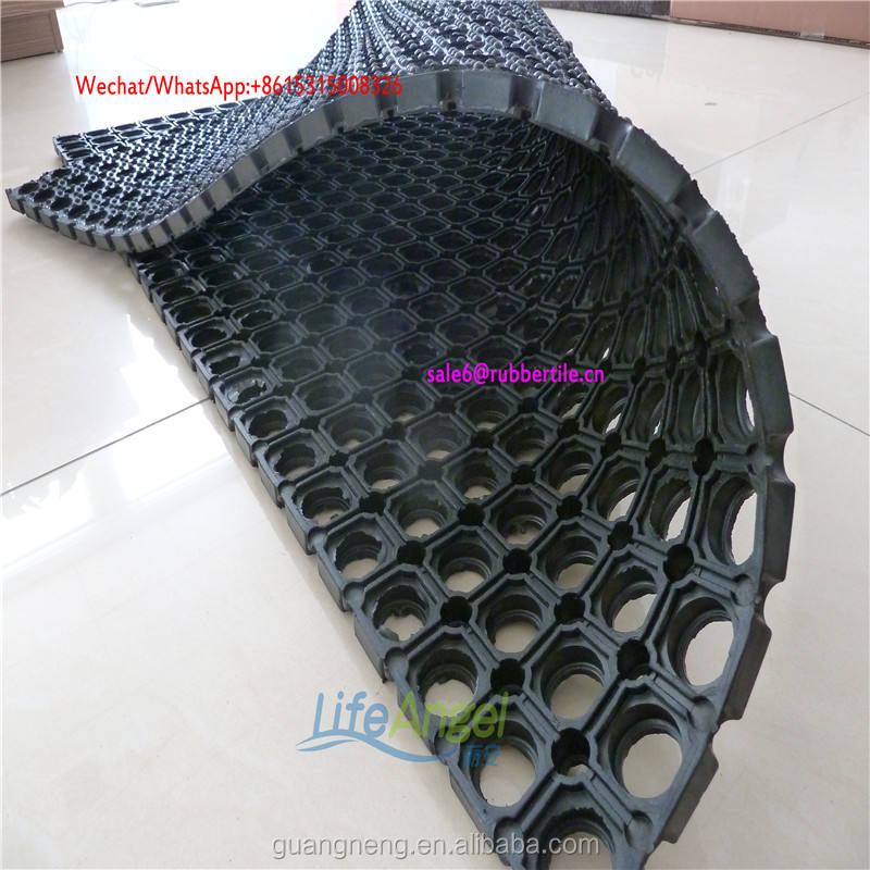 Anti-fatigue Heavy-duty Marine Rubber Flooring Mats,Garage Ground Protection Mats