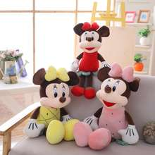 2019 New Toy Arrivals Stuffed Fruit Soft Characters Minnie and Mickey Mouse Plush Toy