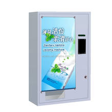Tissue Vending Machine with coin acceptor accept 1 type of your country coin