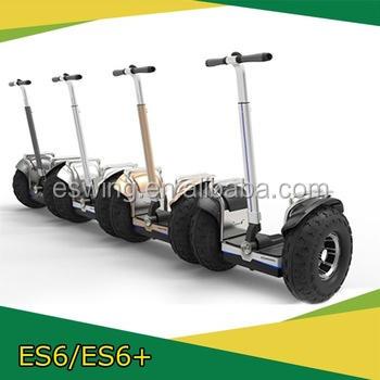 Eswing13.2A бесщеточный двигатель 2 колеса электрической мобильности скутер 2400 Вт для взрослых с большими колесами ES6 + с CE