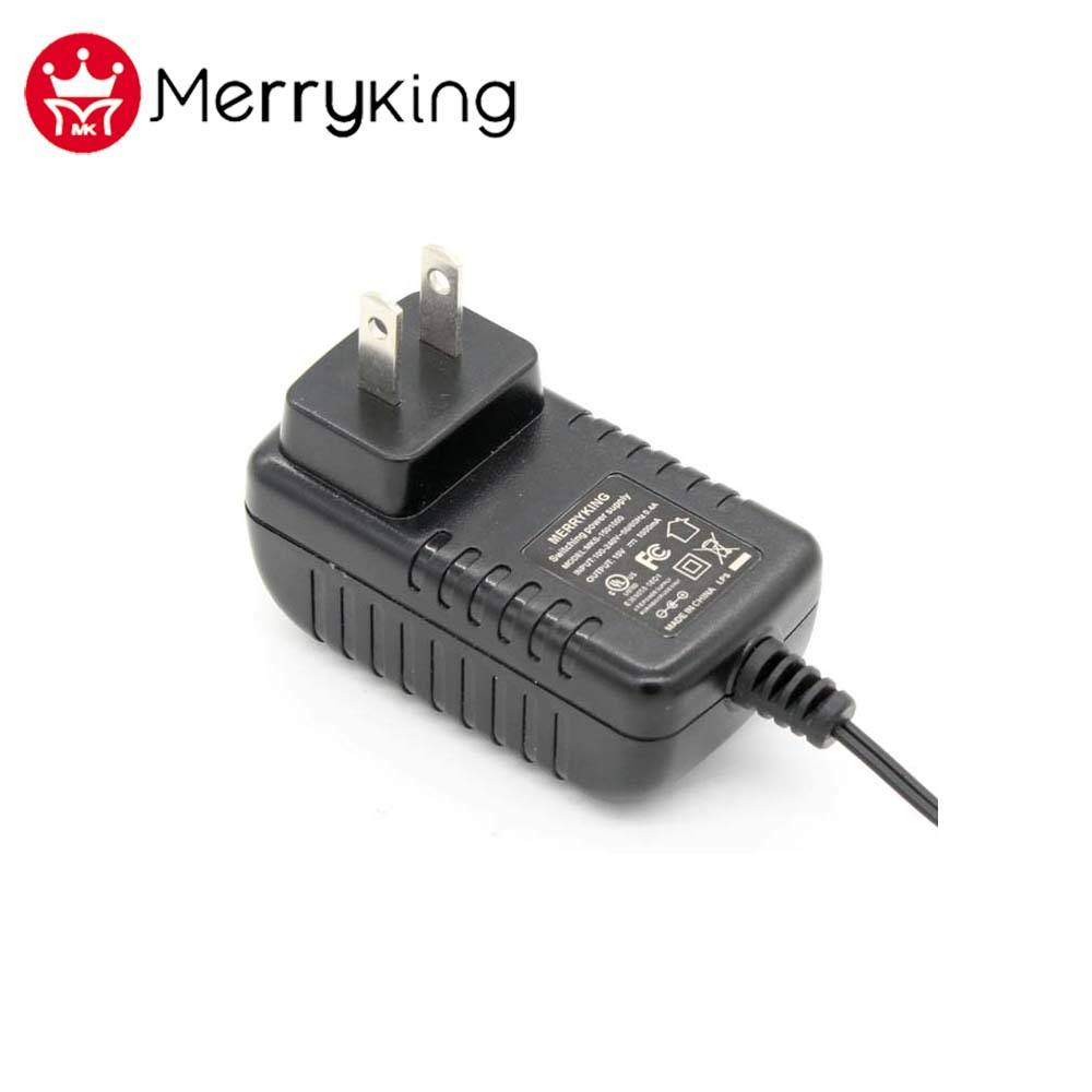 US Dinding Plug Diatur Output AC DC Adaptor 26 V 500mA Power Adapter