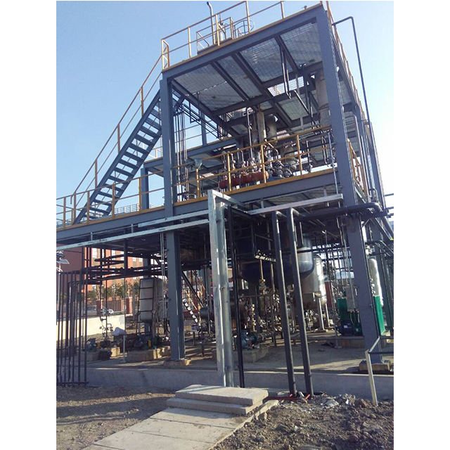 Sunflower oil biodiesel plant/equipment recycling crude glycerol glycerin refining plant from China