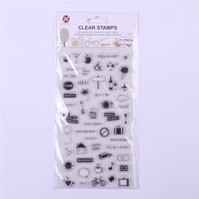 Silicon clear stamp small signs DIY scrapbooking/card making/ decoration supplies