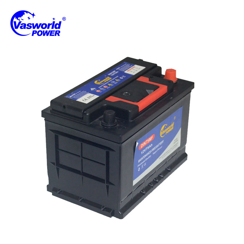 Zambia Wholesale 12V 80ah 90ah MF Car battery 800 CCA