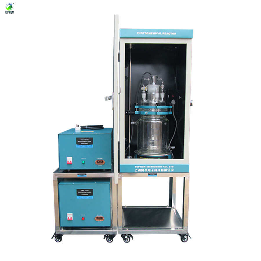 TOPTION High Quality Photocatalytic Water Splitting Reaction System