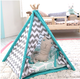 LoveTree Dog Teepee House Tent Bed Cute Teepe Unique Tepee Pet Cat Tipi