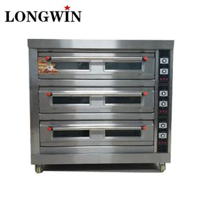 4 Deck Electric Oven with Lava Stone,Full Line Spiral Mixer Dough Divider 3 Layer Deck Oven
