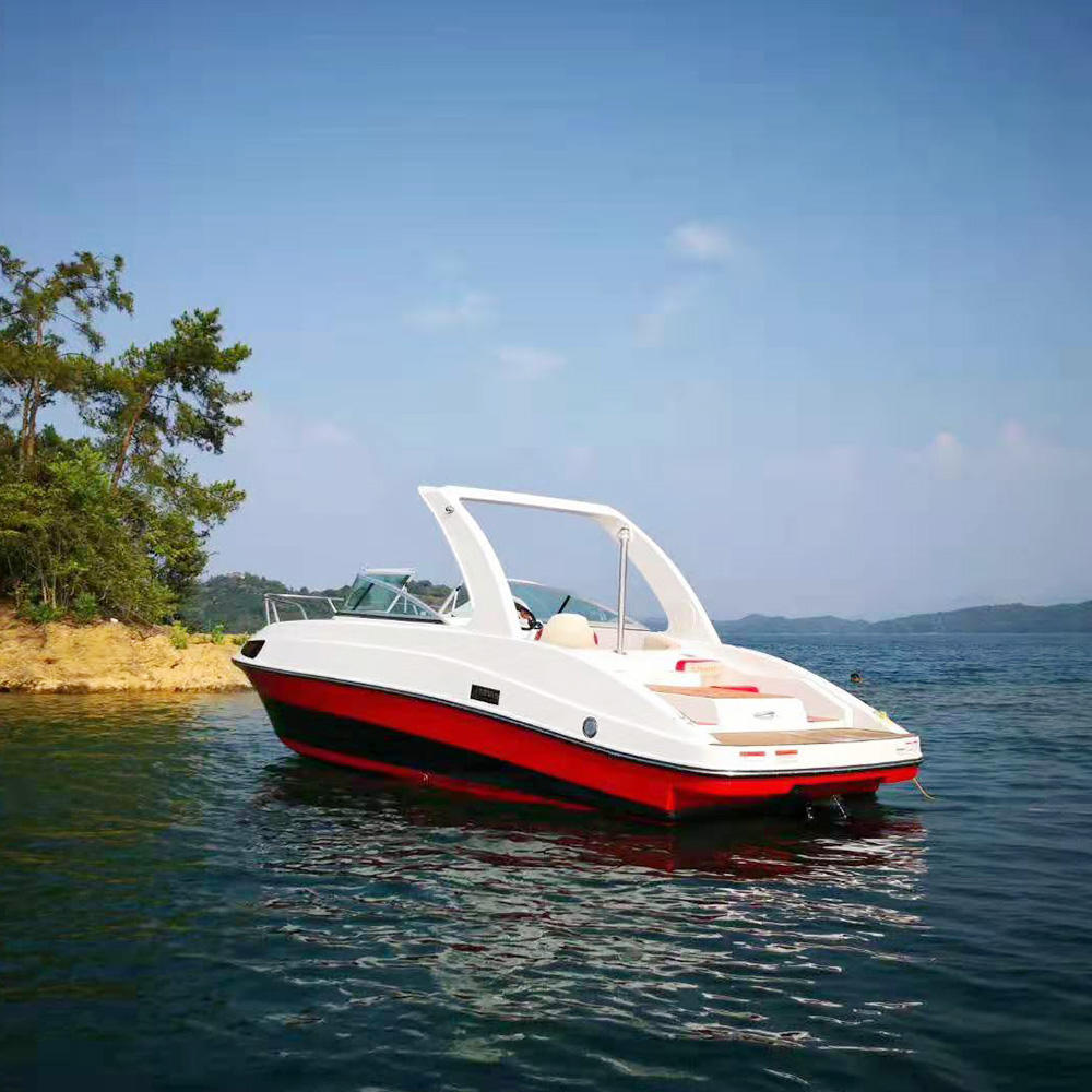 Yacht Fast Boat Outdoor Sport Boat high speed engine boat made in china