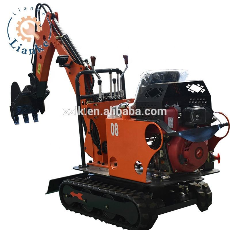 Henan produced used mini excavator for sale