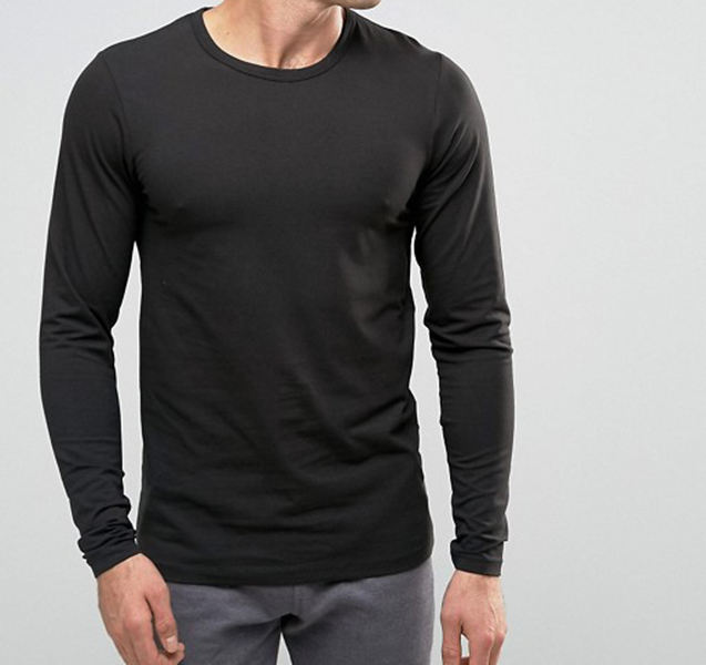 OEM High Quality Dry Fit Custom Thin Men Long Sleeve T Shirts Cheap Wholesale