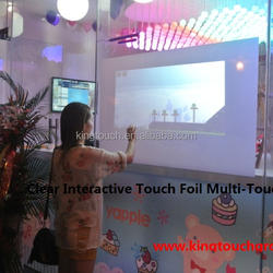 """Nanotechnology 42"""" Interactive Projection foil For Windows glass shop Touch Table"""
