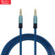 3.5 mm Audio Jack Long Aux Video Cord Cable For Car