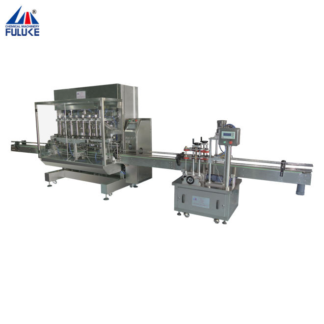 FLK automatic stainless steel aerosol can filling machine applied in cosmetic and food products